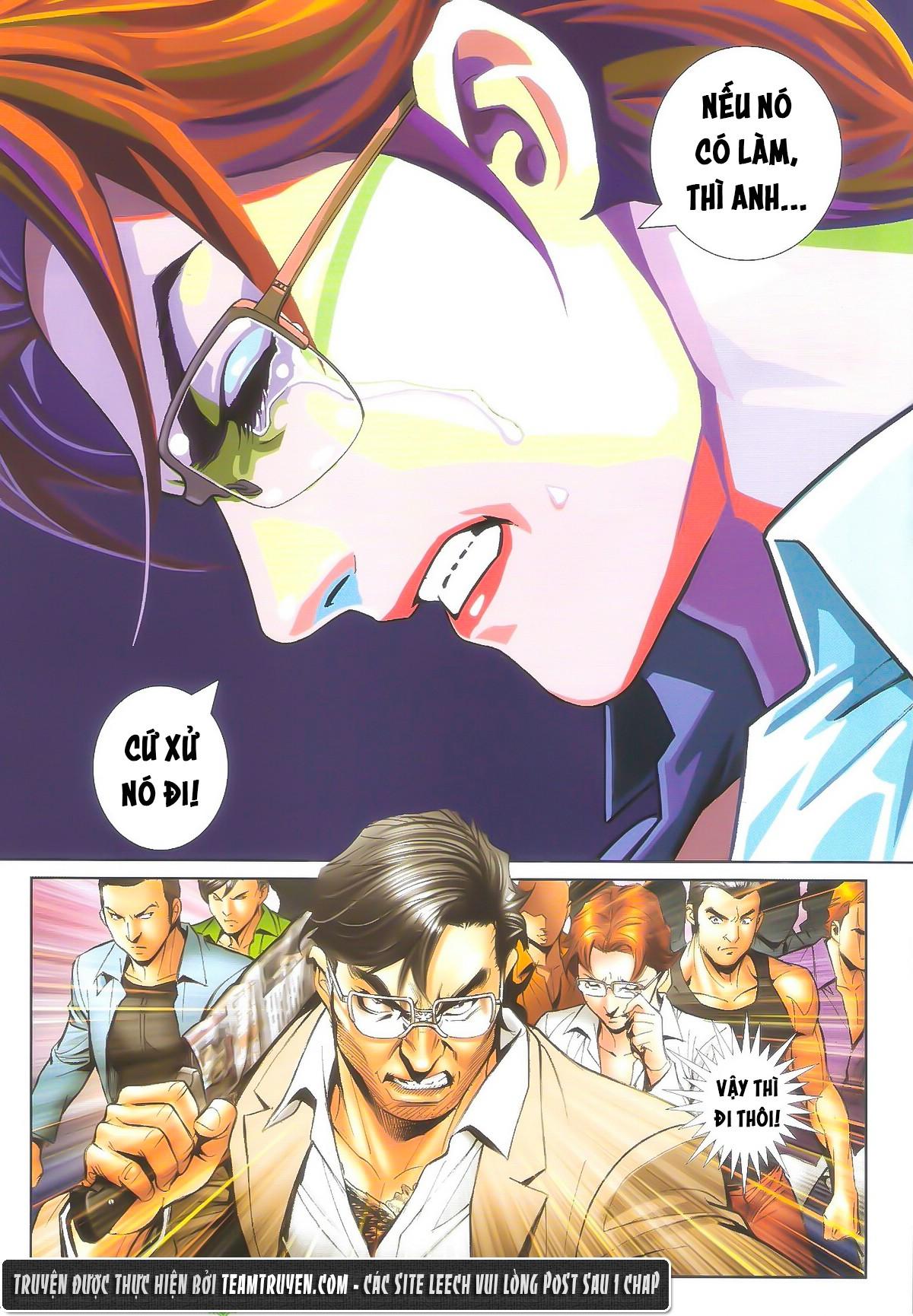 Người Trong Giang Hồ chapter 1604: hồng hưng vs trường lạc trang 10
