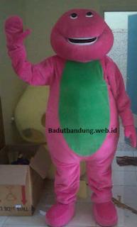 kostum barney, karakter barney ready stock