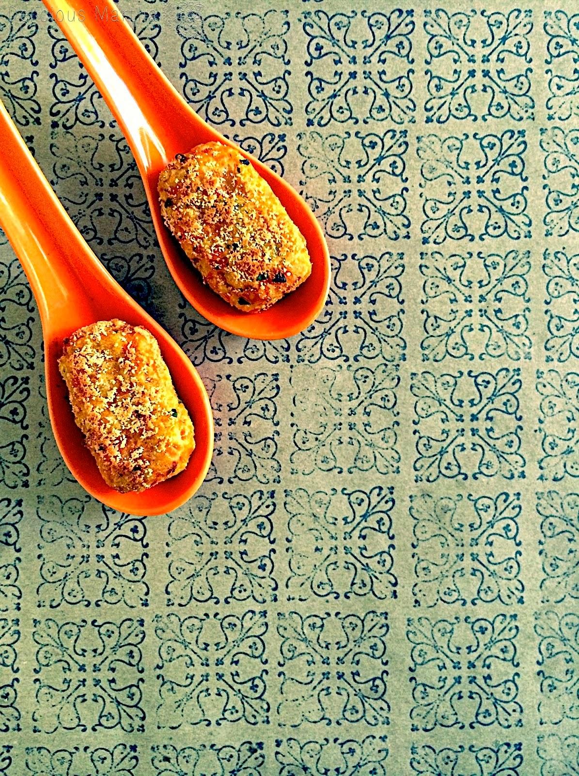 Carrot croquettes (bocados de zanahoria)