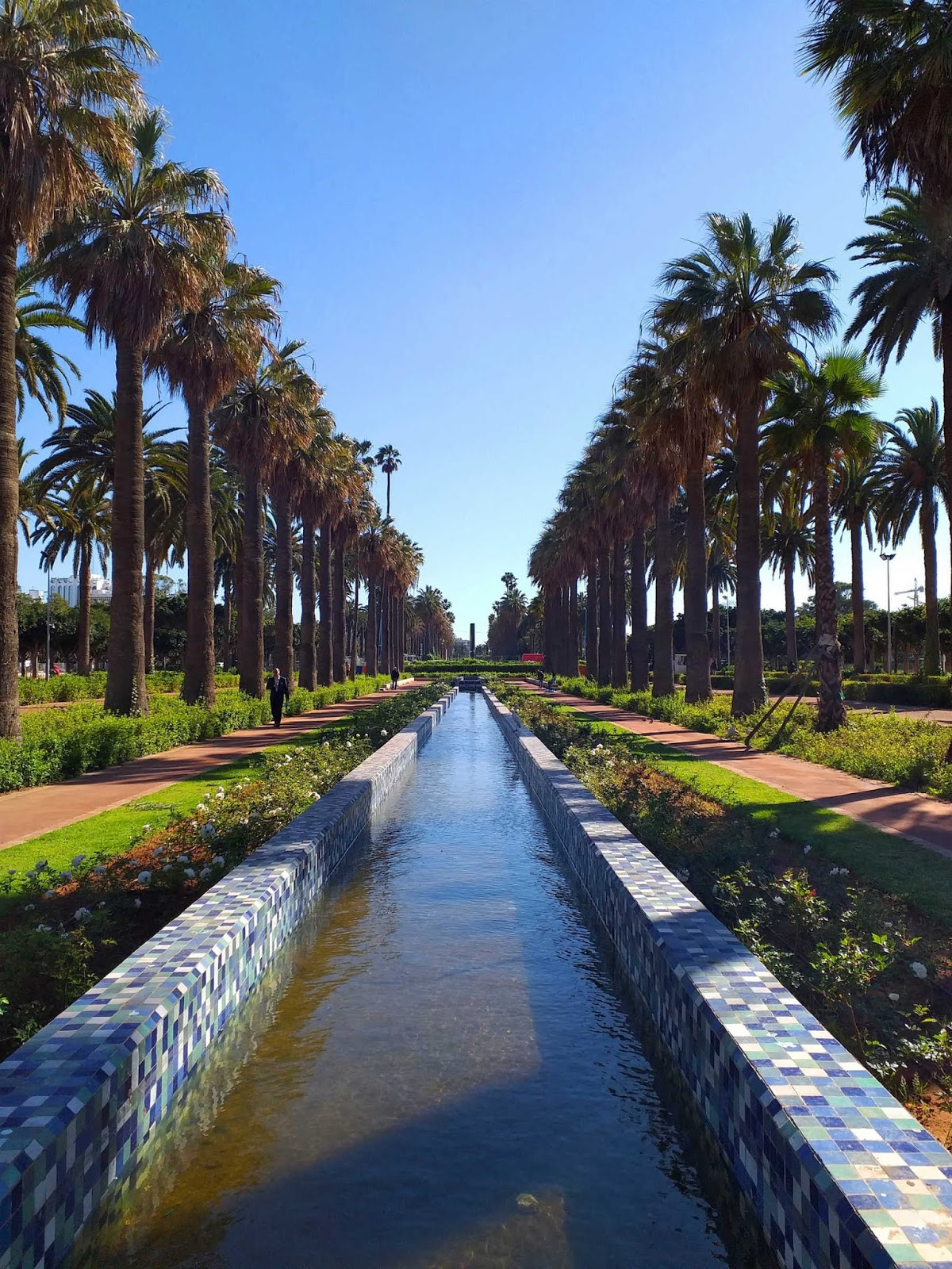 Parque da Liga Árabe, Casablanca, Marrocos