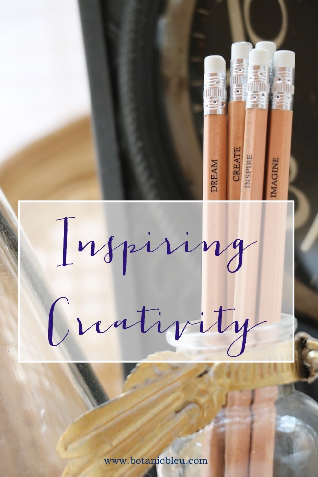 inspiring creativity series with wood imprinted pencils dream create inspire imagine