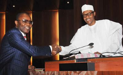 Kachikwu and Buhari