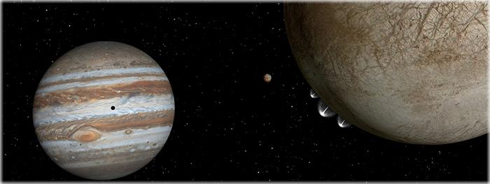 NASA faz revelação sobre atividade detectada em Europa, lua de Júpiter