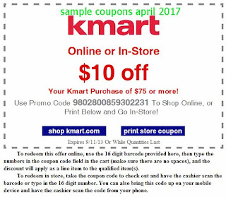 Kmart coupons april 2017
