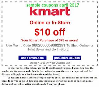 Kmart coupons april 2017