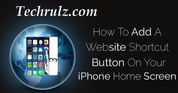 iphone home screen button how to add a website shortcut button on your iphone home 15299