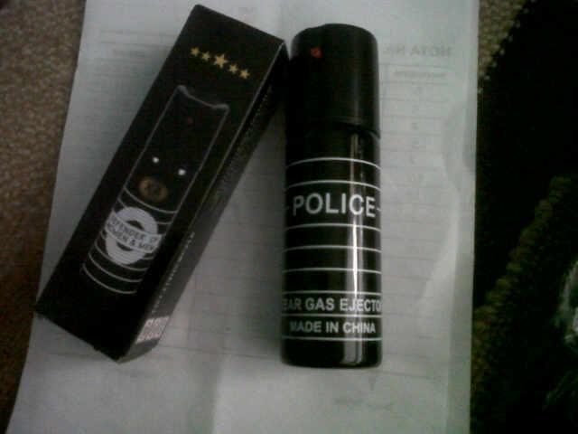 Ini Wujudnya Senjata Gas Air Mata yang Dipakai Polisi