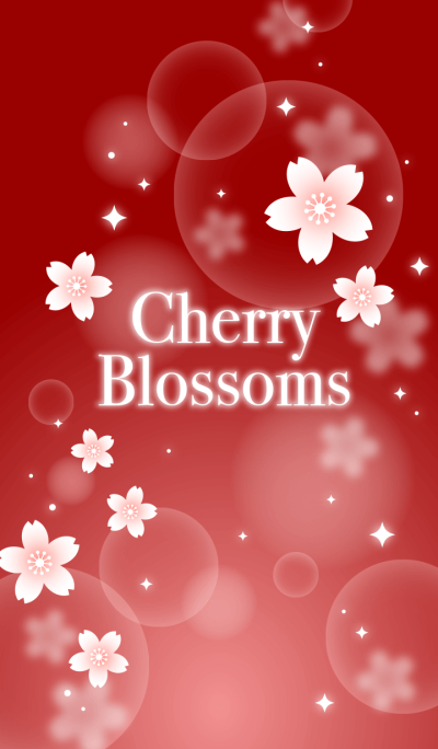 Cherry Blossoms2(bordeaux)