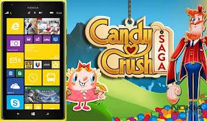 Candy Crush Saga Windows Phone Cihazlara Geldi