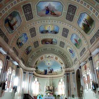 Interior da Igreja São Roque, Faxinal do Soturno (RS)