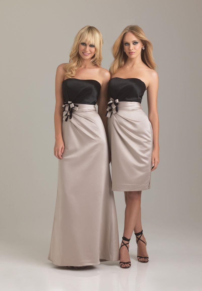 WhiteAzalea Bridesmaid Dresses: Champagne Colored ...