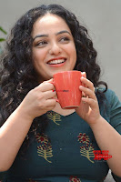 Nithya Menon promotes her latest movie in Green Tight Dress ~  Exclusive Galleries 024.jpg