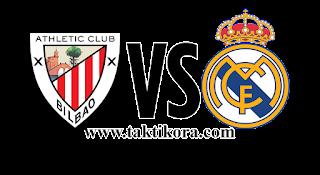 ريال مدريد وأتلتيك بلباو بث مباشر اليوم