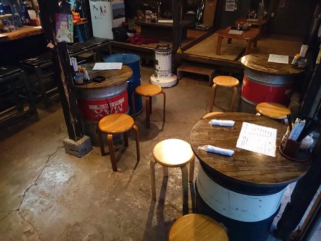 栄町ボトルネックの店内の写真