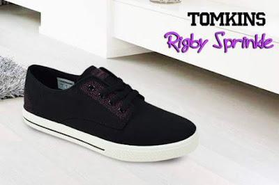 Tomkins Rigby Sprinkle Black White