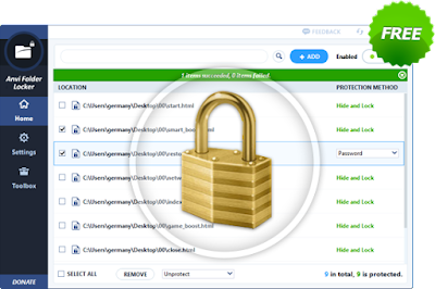 Free  Download Anvi Folder Locker