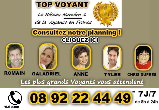 Planning top voyant audiotel