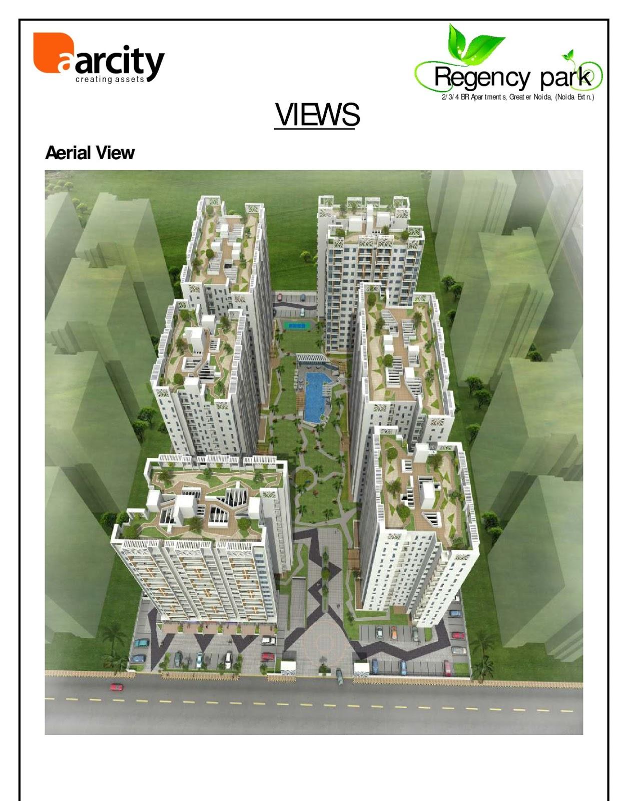 Site-plan-Regency-Park-Noida-Extension