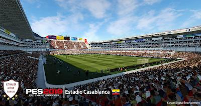 PES 2019 Stadium Estadio Casablanca by Arthur Torres