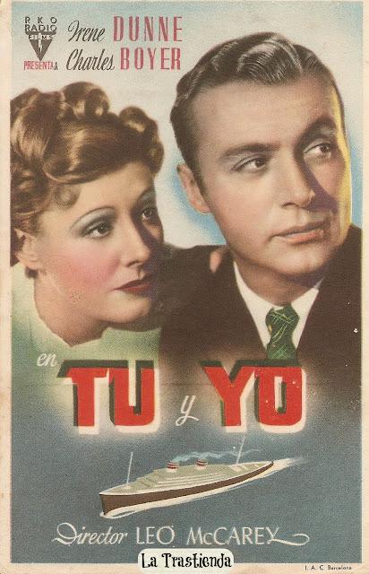 Programa de Cine - Tu y Yo (1939) - Irene Dunne - Charles Boyer
