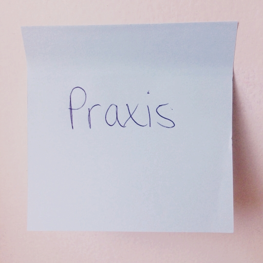 word of the week praxis