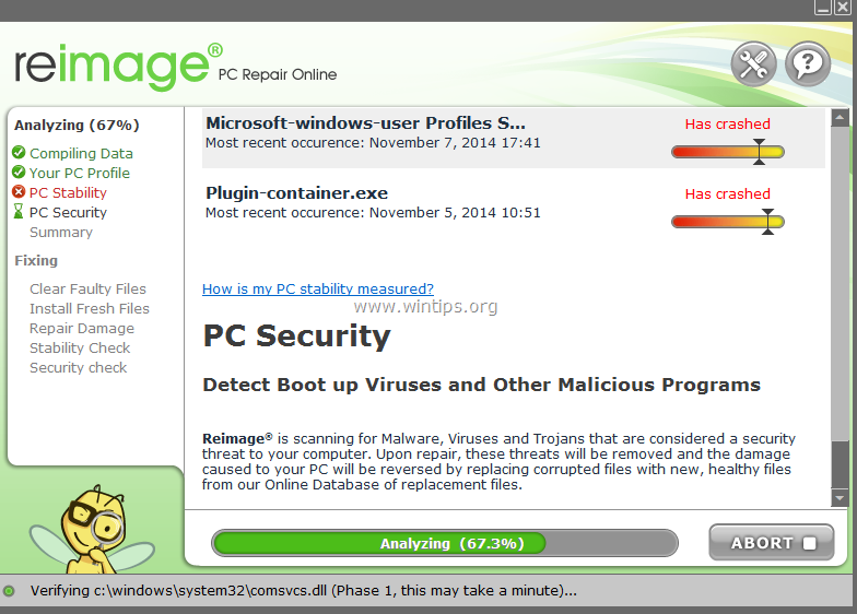 free download pc scan & repair by reimage
