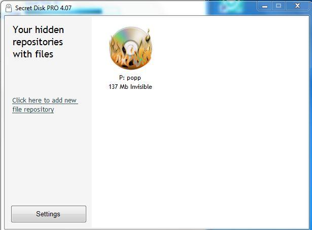 برنامج Secret Disk Pro كيفية اخفاء ملفاتك داخل الهارد