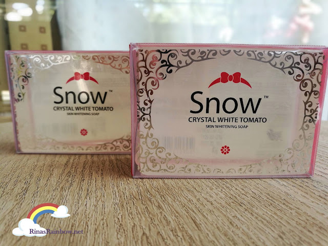 Snow Crystal White Tomato Soap