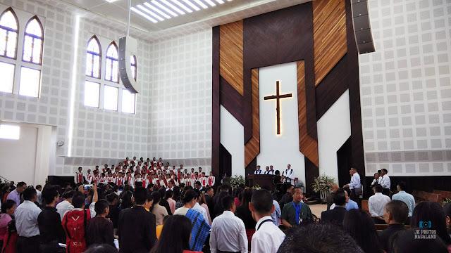 new kohima lotha baptist church building dedication photo