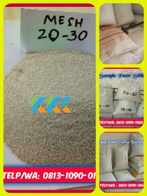 Pasir Silika Bangka Mesh 20-30 Kemasan 50 Kg