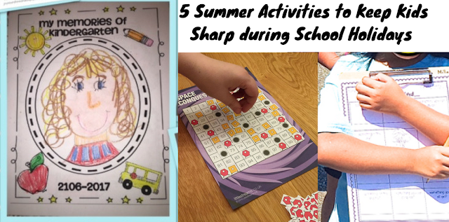 5 Summer Activities to Keep Kids Sharp during School Holidays from beneylu PSSSST...you will LOVE it...Time to Check it Out!