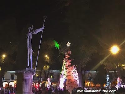 Christmas in Mexico in Pátzcuaro, Michoacán