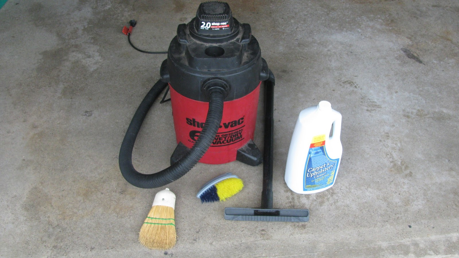 The Original Mechanic The Best Car Carpet Cleaning Method