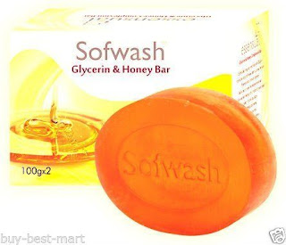 Sofwash Glycerine Honey Soap For Fair Skin