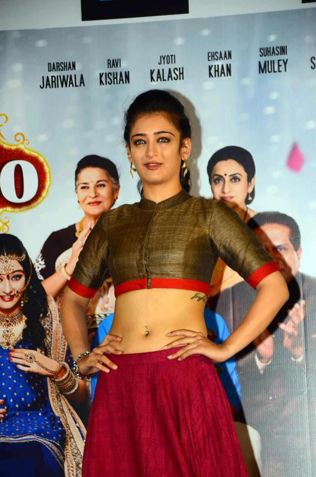 Akshara Haasan Showcasing Her Toned Midriff At Film Laali -2913