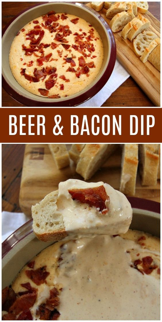BEST BEER AND BACON DIP