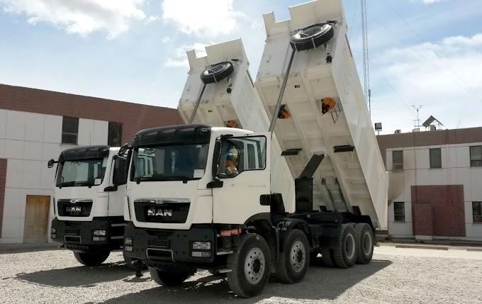 MAN Latin America vende extrapesados para transporte de cimento na Bolívia