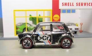 hot wheels super chromes morris mini target ten car set