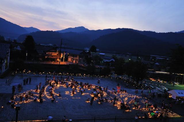 Eco Candle Fair, Ikeda Town, Fukui Pref.