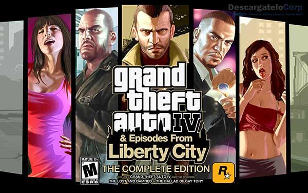 Grand Theft Auto IV Complete Edition Español Juego PC