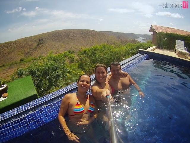 Pedra do Sino Hotel - piscina excelente para a diversão também!