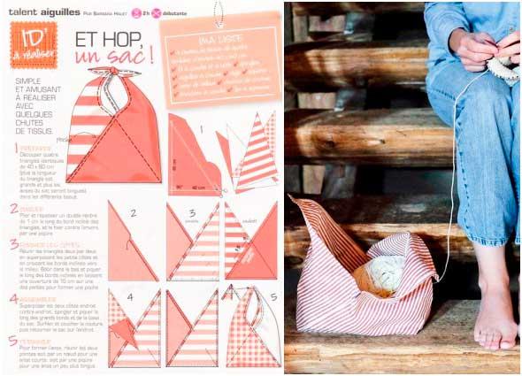 bolsos bento bag, bolsas de origami, costura de bolsos, manualidades