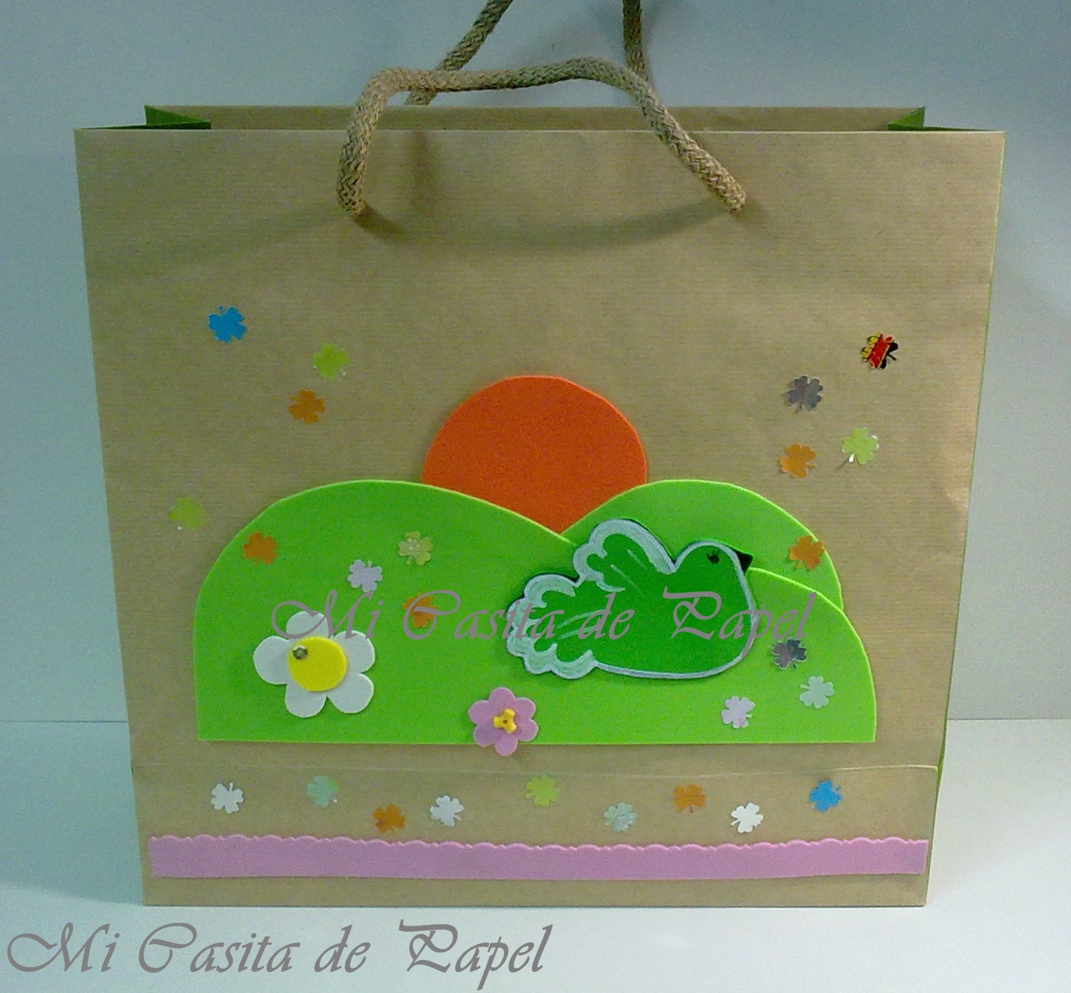 Bolsas De Tela Decoradas Mi Casita De Papel Decorando Bolsas