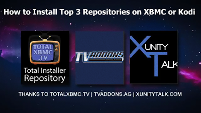 Top 3 Best Kodi Repositories 2017