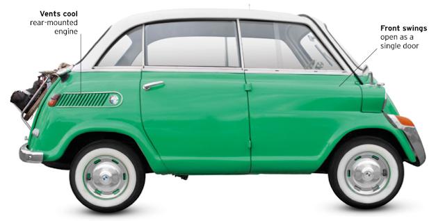 classic cars, BMW 600 1957