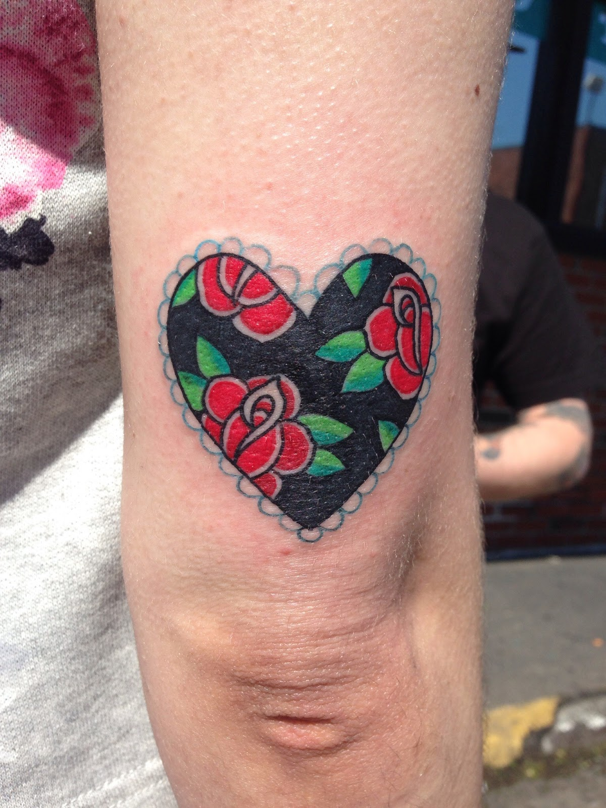 Amazing Tattoos Heart Beat With Dates: 15 Amazing Heart Tattoo Ideas