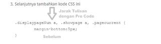 Cara Memperbaiki Jarak Pre Code Bawaan Evo Magz