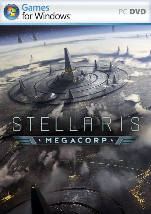 Stellaris MegaCorp PC Cover