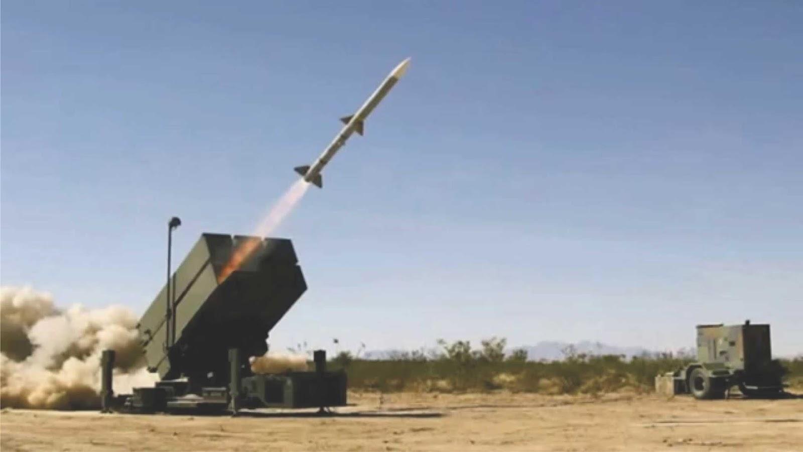 TNI AU Akan Memasang Rudal Jarak Menengah NASAMS di Teluk Naga