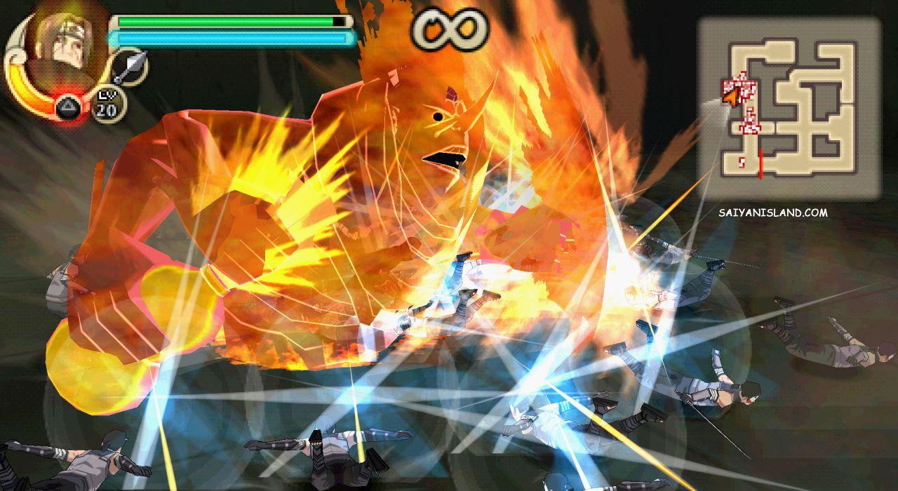 Naruto Shippuden Ultimate Ninja Impact Download ISO PSP PPSSPP